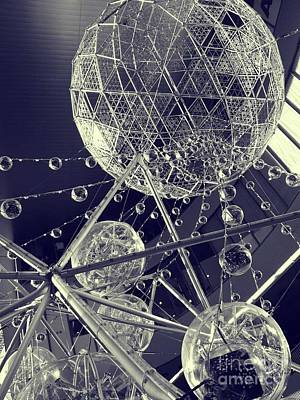 Photograph - Christmas Globes by Eena Bo