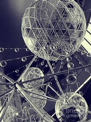 Photograph - Christmas Globes by Eena Bo