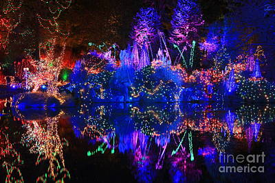 Photograph - Christmas Light Show I by Frank Townsley