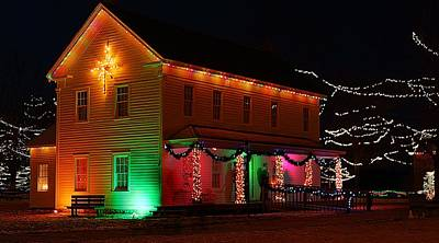 Photograph - Christmas Lights by Scott Hovind