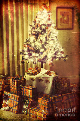 Christmas Morning Art Print by HD Connelly