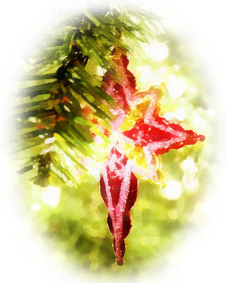 Digital Art - Christmas Ornament by Francesa Miller