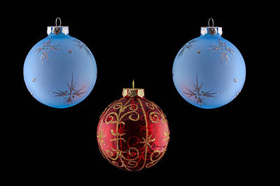 Christmas Ornaments Art Print by Doug Long