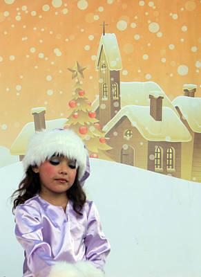 Christmas Play At Manger Square In Bethlehem Original