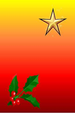 Rustenburg Photograph - Christmas Star by Ronel Broderick