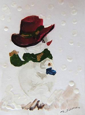 Navidad Painting - Christmas Time by Amalia Jonas