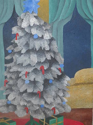 Painting - Christmas Tree by Brandon Crawford
