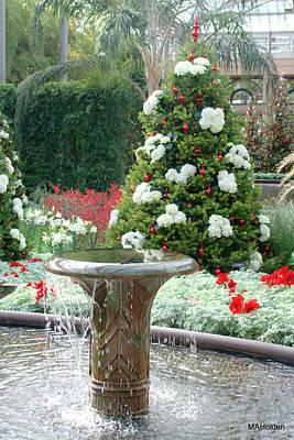 Christmas Tree Fountain Original