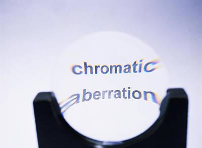 Chromatic Aberration Print by Andrew Lambert Photography