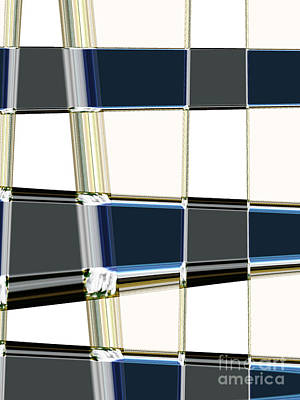 Deep Think Digital Art - Chrome by Lj Lambert