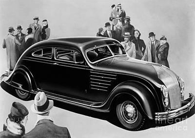 Chrysler Airflow Art Print by Photo Researchers