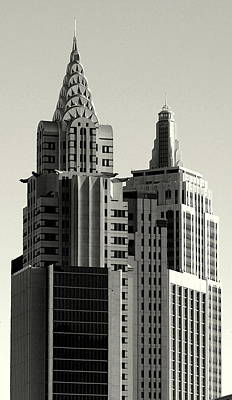 Photograph - Chrysler And Empire by Linda Edgecomb