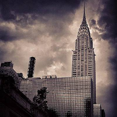 Skyscrapers Wall Art - Photograph - Chrysler Bldg. - New York by Joel Lopez