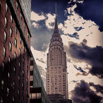 Skyscrapers Wall Art - Photograph - Chrysler Building - New York by Joel Lopez