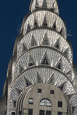 Chrysler Building - New York Art Print by Martin Cameron