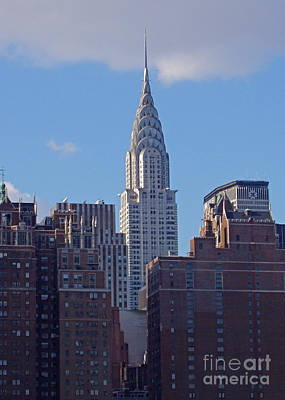 Photograph - Chrysler Building by Carol  Bradley