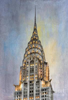 Chrysler Building I Art Print by Clarence Holmes