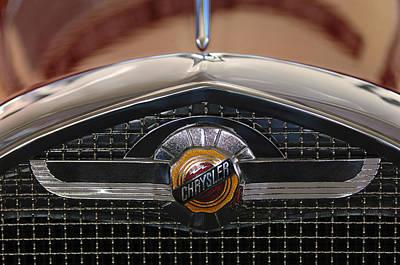 Photograph - Chrysler Grille Emblem by Jill Reger