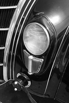 Wall Art - Photograph - Chrysler Headlight by Mary McGrath