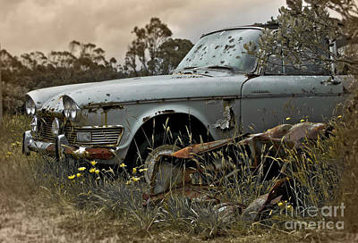 Photograph - Chrysler Imperial by Karen Lewis