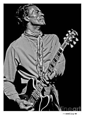Chuck Berry 2 Art Print