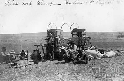 Chuck Wagon Photograph - Chuck Wagon by Photo Researchers, Inc.