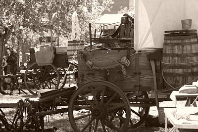 Chuckwagon Art Print by Toni Hopper