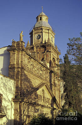 Photograph - Church At Sunset Real De Catorce Mexico by John  Mitchell