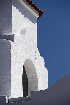 Church Bell Tower Chacras De Coria Art Print by Philippe Widling