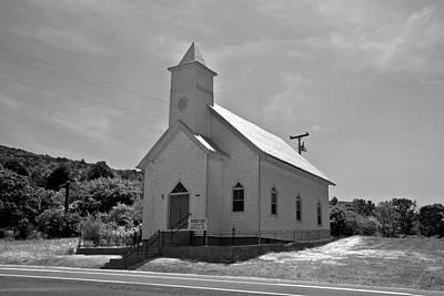 Virginia Photograph - Church by Betsy Knapp