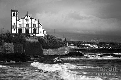 Church By The Sea Art Print by Gaspar Avila
