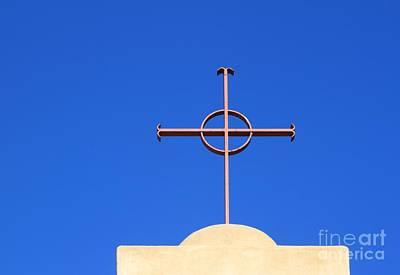 Church Cross Art Print by Henrik Lehnerer