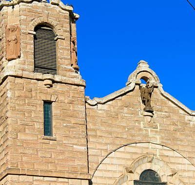 Photograph - Church Detail by Pamela Walrath