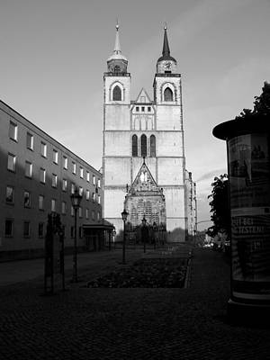 Black And White Photograph - Church In Germany by Bianca Baker
