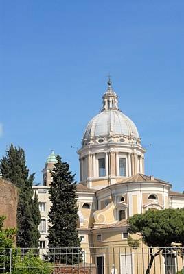 Church In Rome Art Print by