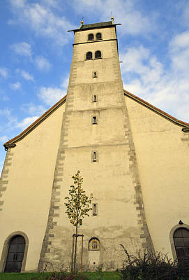 Photograph - Church Maria Heimsuchung Meersburg Germany by Matthias Hauser