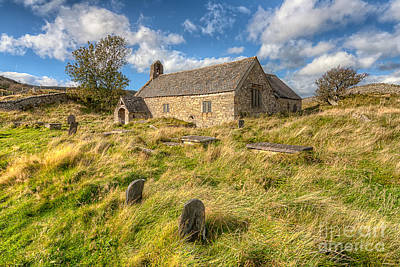 Celynnin Photograph - Church Of Celynnin by Adrian Evans