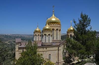 Church Of Gornensky Convent 1 Original by Moshe Moshkovitz