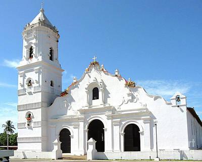 Church Of Nata De Los Caballeros Art Print