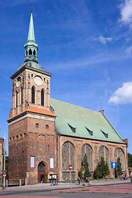 Saint Barbara Wall Art - Photograph - Church Of Saint Barbara In Gdansk by Artur Bogacki