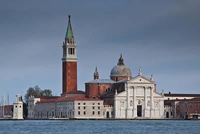 Church Of San Giorgio Maggiore Venice Italy Art Print