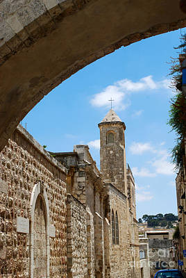 Photograph - Church Of The Flagellation Jerusalem by Eva Kaufman