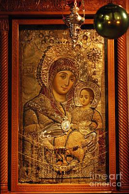 Digital Art - Church Of The Nativity Bethlehem by Eva Kaufman
