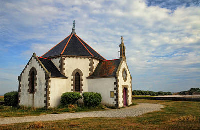 Art Print featuring the photograph Church Off The Brittany Coast by Dave Mills