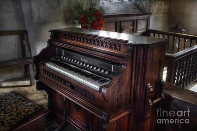 Church Photograph - Church Organ by Ian Mitchell