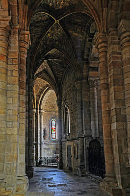 Art Print featuring the photograph Church Passageway Provence France by Dave Mills