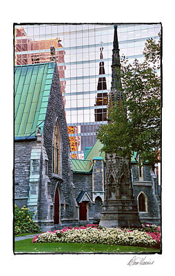 Photograph - Church Reflections by Diana Haronis