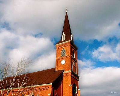 Photograph - Church Steeple by Ms Judi