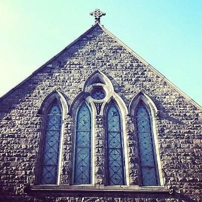 Angle Photograph - #church #steeple #points #angle by Jenna Luehrsen