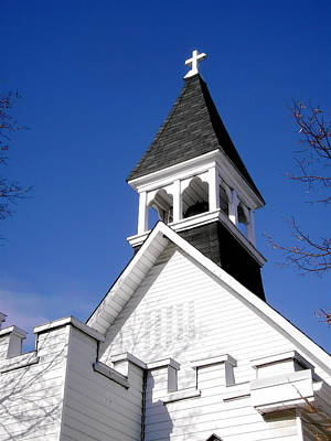 Photograph - Church Steeple by Stephanie Moore